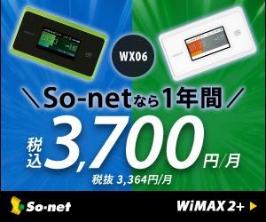 So-net WiMAX