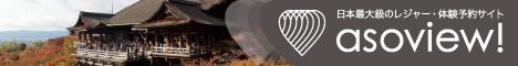 【あそビュー・ASOVIEW】レジャー・体験・遊びの予約サイト