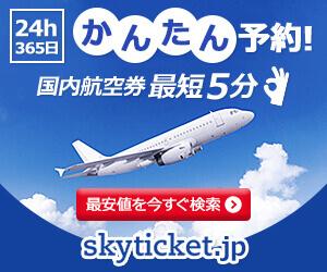 【スカイチケット】国内格安航空券・国内レンタカー予約